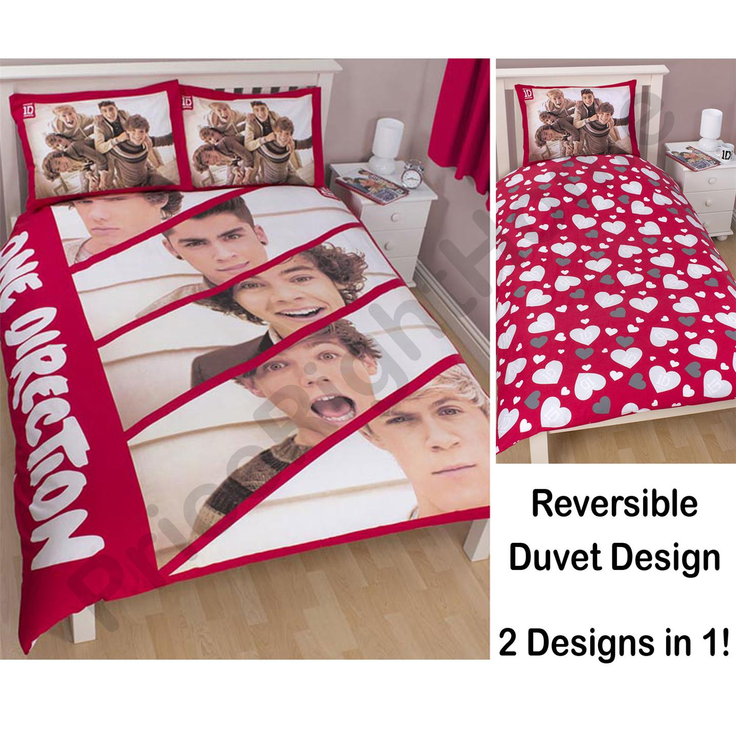Officiel one direction housse de couette literie et - Housse de couette one direction ...