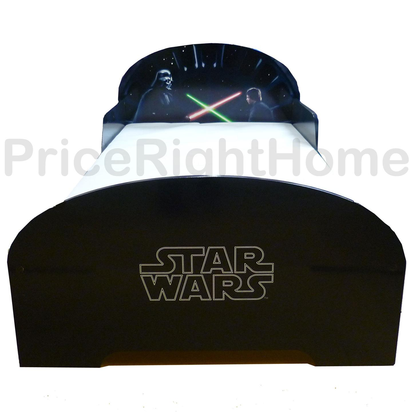 Star Wars Mdf Junior Toddler Bed New Boxed Official Ebay