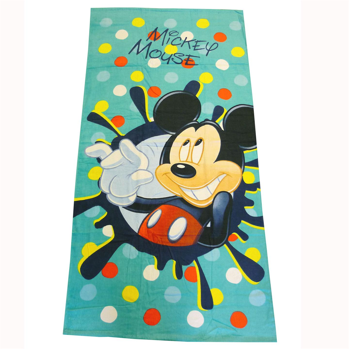 kids disney and character towels childrens large beach bath towels new ebay