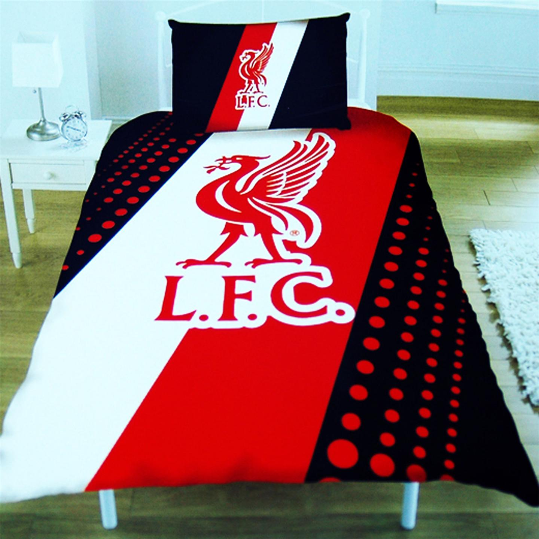 Football club single duvet cover bedding sets arsenal for Man u bedroom wallpaper