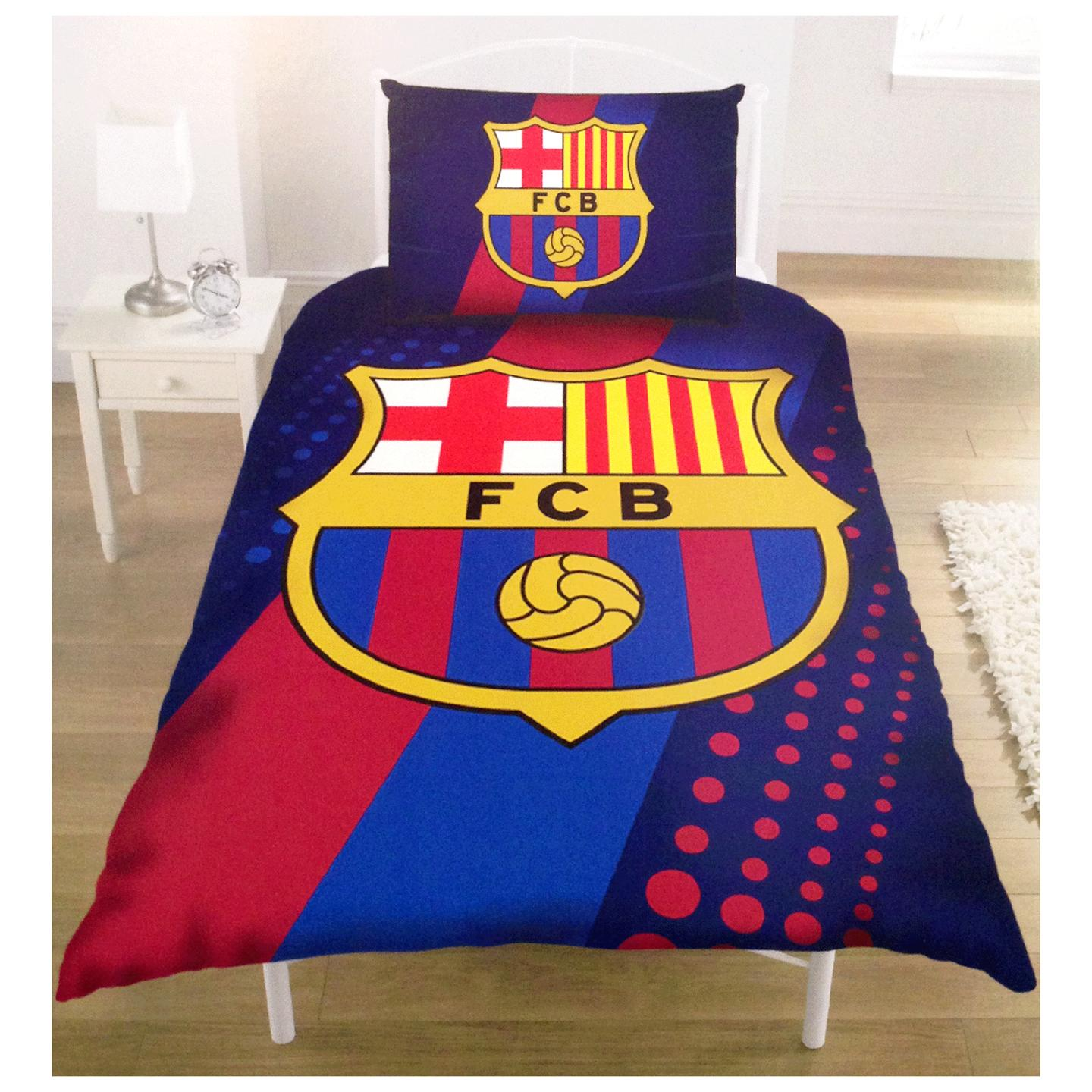 Football club single duvet cover bedding sets arsenal for Man u bedroom stuff