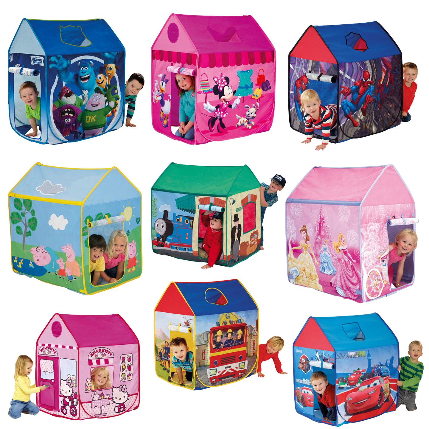 spielzelt kinder disney und figuren wendy haus pop up zelt ebay. Black Bedroom Furniture Sets. Home Design Ideas