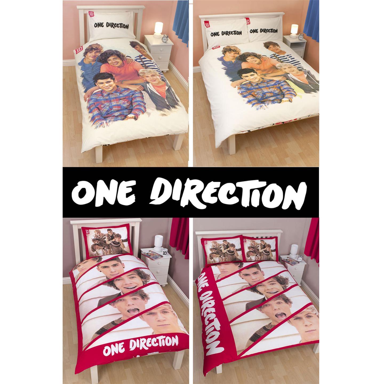 one direction duvet cover sets single double sizes official 1d merchandise ebay. Black Bedroom Furniture Sets. Home Design Ideas