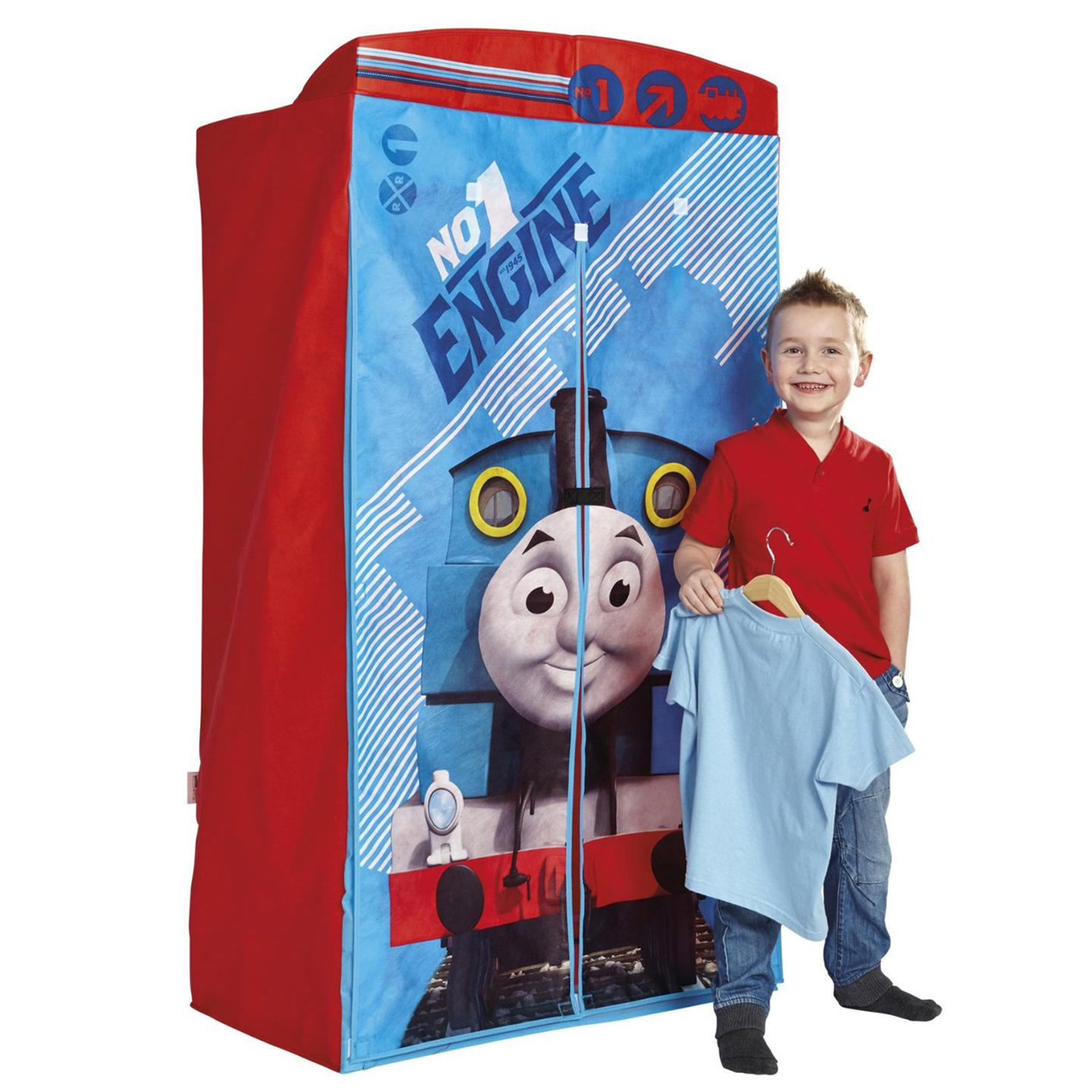 Good Thomas And Friends Furniture #3: Thomas Tank Engine Bedroom Furniture Friends Fabric Wardrobe Official The
