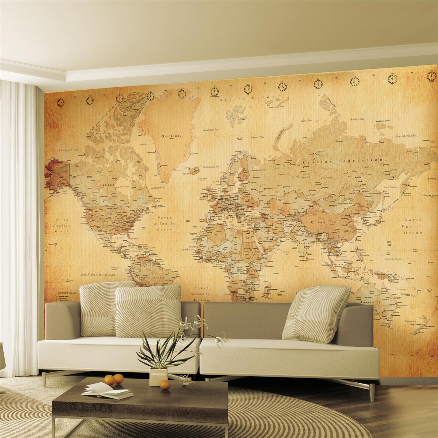 Large wallpaper feature wall murals landscapes for Mural wallpaper