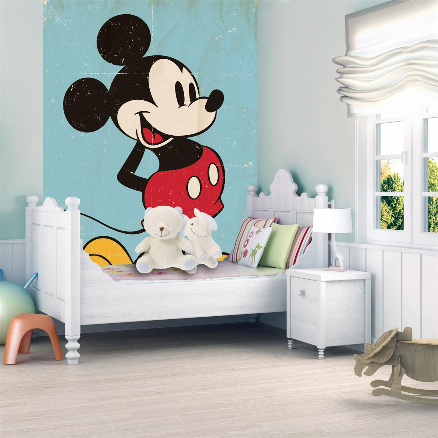 large wallpaper decor wall murals disney football kids. Black Bedroom Furniture Sets. Home Design Ideas