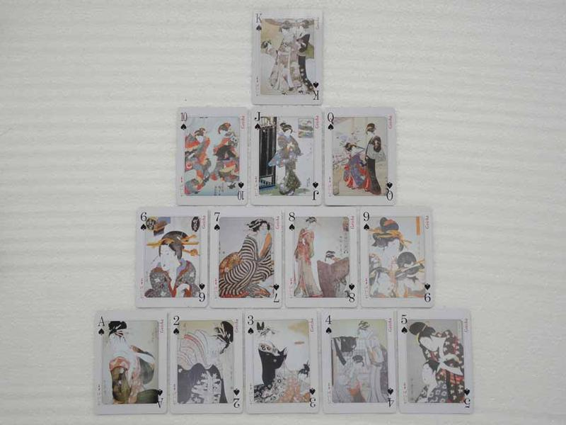 Rare A Deck Japan GEISHA Sex ARTISTIC playing card. Description: