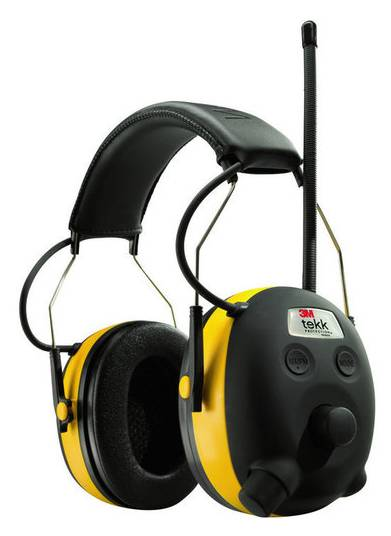 Earmuff-Headphone-3M-Tekk-Worktunes-Radio-Digital-w-iPod-Jack-Hearing-Protection