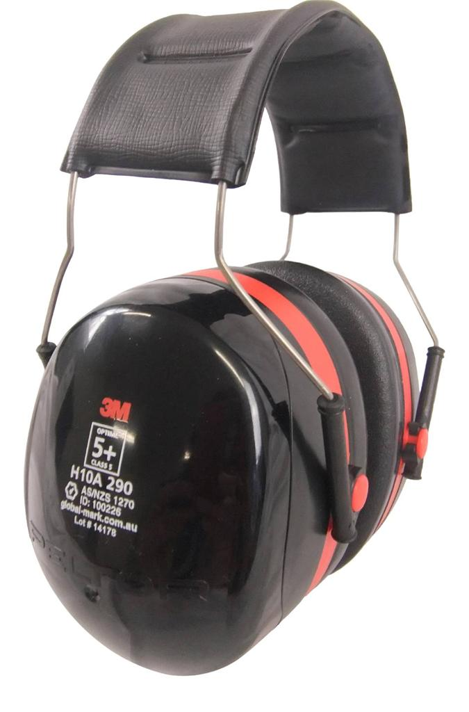 3M Peltor Over-The-Head Earmuff H10A Optime 105