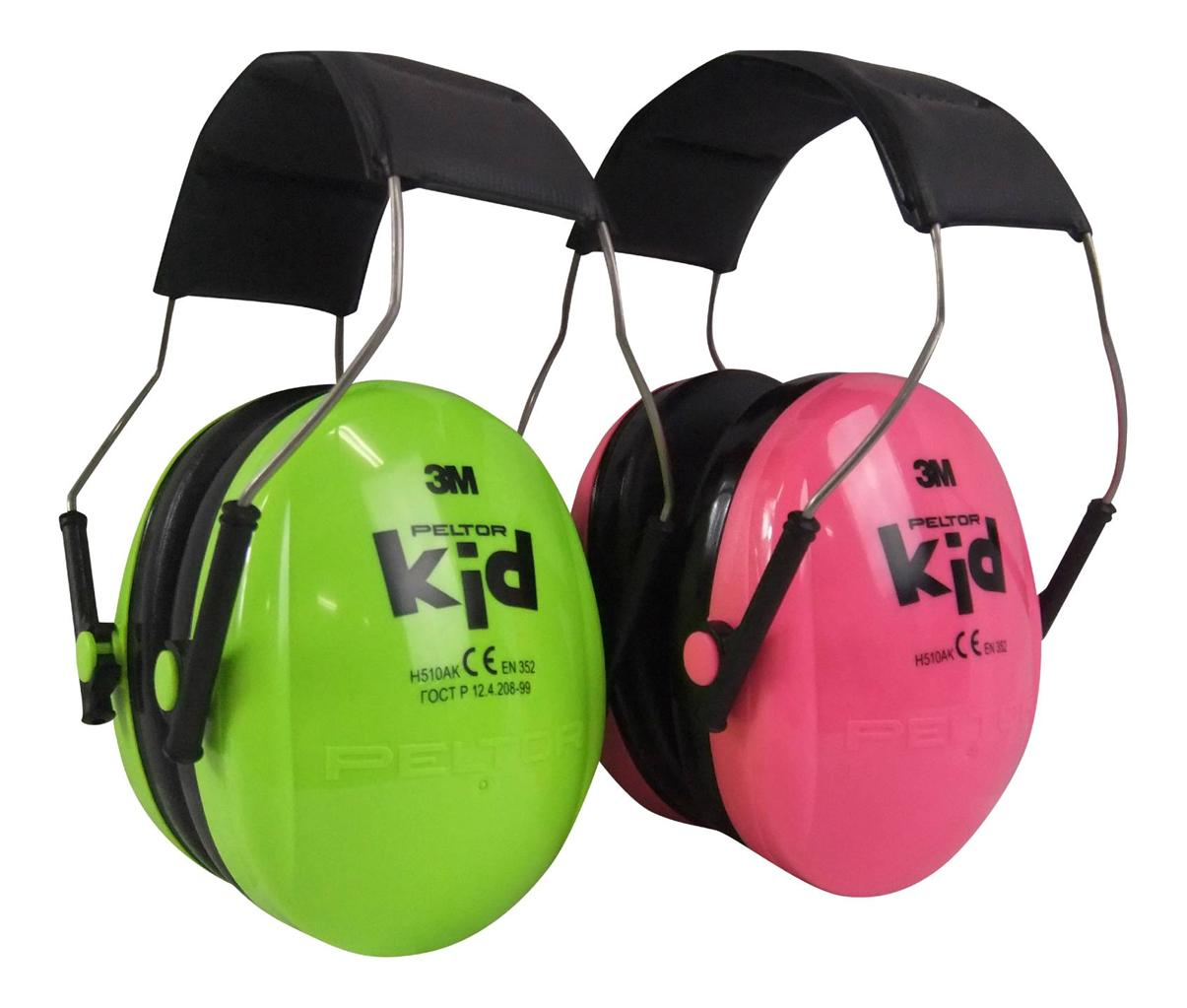 3M Peltor Kid Earmuff (Up to 7 yrs) H510AK (Peach)