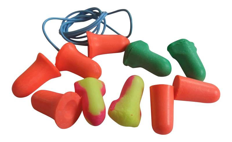 Howard Leight Soft Foam Earplugs Sampler Pack 5 Pairs
