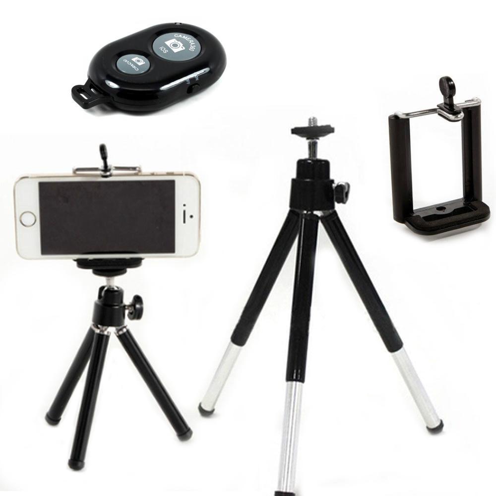 5 in 1 tripod bluetooth remote shutter selfie stick holder and gopro adapter ebay. Black Bedroom Furniture Sets. Home Design Ideas