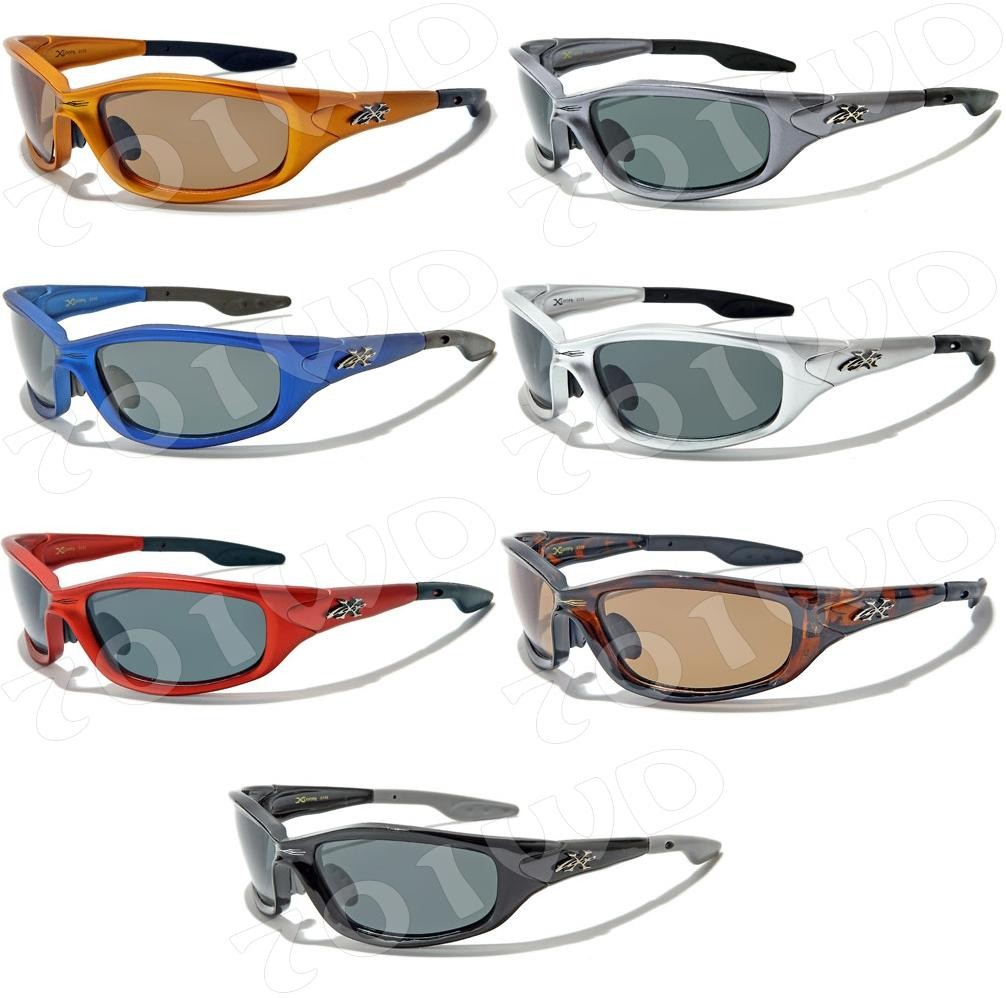 New-Mens-Xloop-POLARIZED-Fishing-Cycle-Sunglasses-Black-Blue-Red-Driving-X-Loop