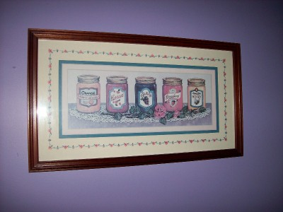 Retired home interior jams jellies canning rose fruit Discontinued home interior products