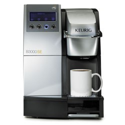 Keurig B3000SE Commercial Brewing ,Office Single Cup Coffee Maker, 4 cup sizes eBay