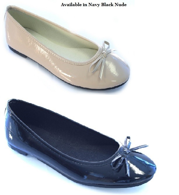 Navy Flat Loafers Make the athleisure trend work for you with brand new Limbo from Carvela. A smart patent navy loafer with traditional penny bar and tassel trim sits on a pumped-up wegde sole with contrast midsole flash.