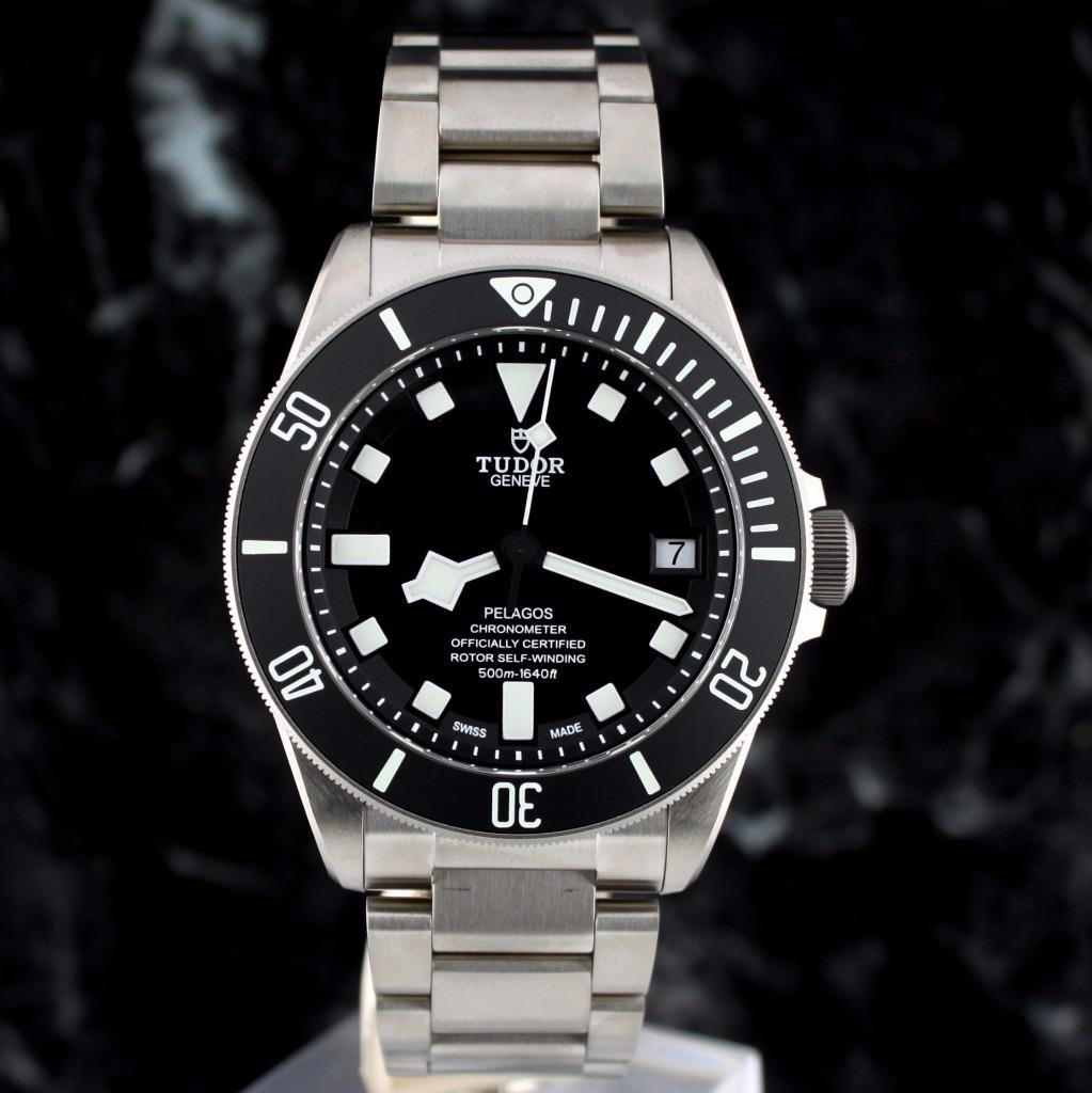 Us price bnib tudor pelagos black dial titanium diver - Tudor dive watch price ...