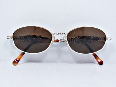 Glasses Frame Repair Brighton : Brighton Womens Sunglasses Silver Scroll Decorated Frames ...