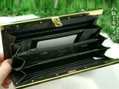 HELLO KITTY CLUTCH LONG WALLET CARD COIN BAG PURSE P01B