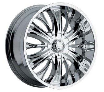 20 inch panther python chrome wheels ebay. Black Bedroom Furniture Sets. Home Design Ideas