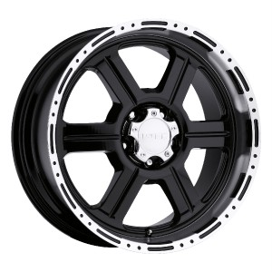 20 inch V Tec 326 Gloss Black Wheels Rims Jeep Wrangler