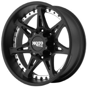20 inch 20x9 Moto Metal Black Wheels Rims 5x5 5x127 18 Jeep Wrangler