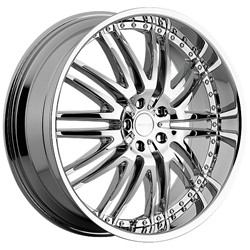 22 Inch Menzari Z04 Chrome Wheels Rims 5x112 +45 / Audi Q5 Mercedes ML