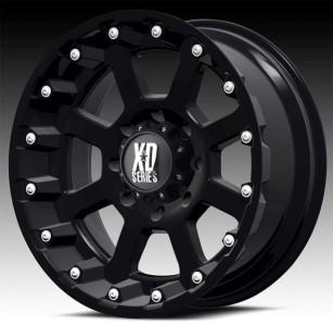 18x10 KMC XD black wheels rims 5x5 5x127 2007 ^ jeep wrangler lifted