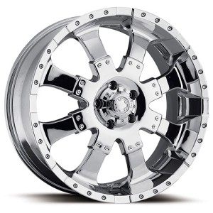 20x9 Ultra Goliath Chrome Wheel Rim 5x150 Sequoia Tundra LX470