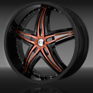 18 inch gianna blitz black wheel rim 5x5 45 jeep grand cherokee wrangler ebay. Black Bedroom Furniture Sets. Home Design Ideas