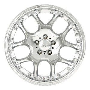 Leonardo Chrome Wheels Rims 5x112 R Class CLK 550 CLK 430 Jetta