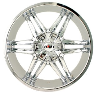 20 inch MPW MP208 Chrome Wheels Rims 6x5 5 K 2500 Silverado Suburban