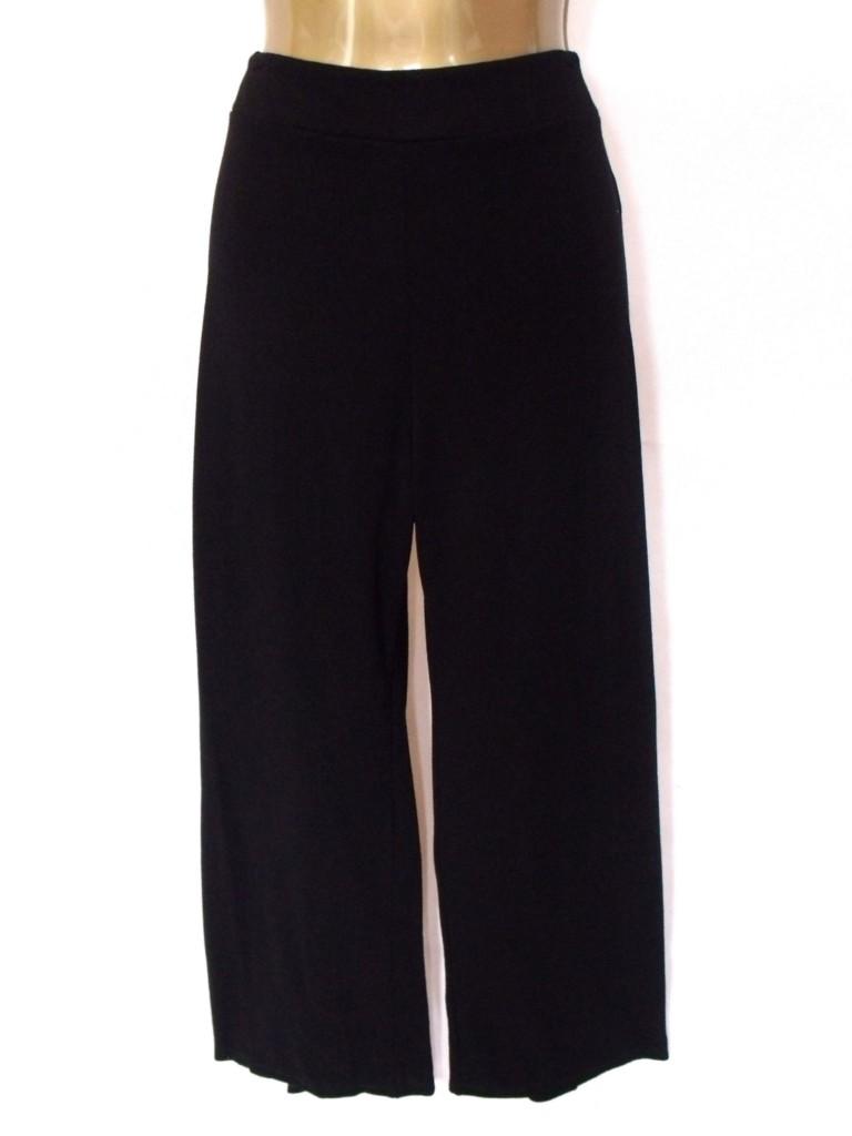 Womens black wide leg maxi palazzo trousers plus size 18 for Palazzo 24