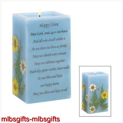 Happy-Home-Blessing-Prayer-Poem-Vanilla-Blue-Candle-New