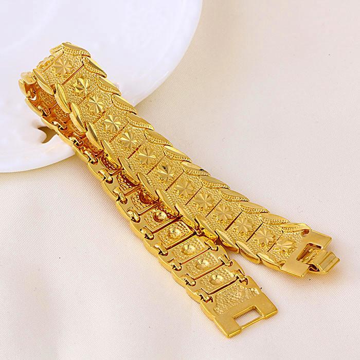 gold bracelets for men deals on 1001 blocks