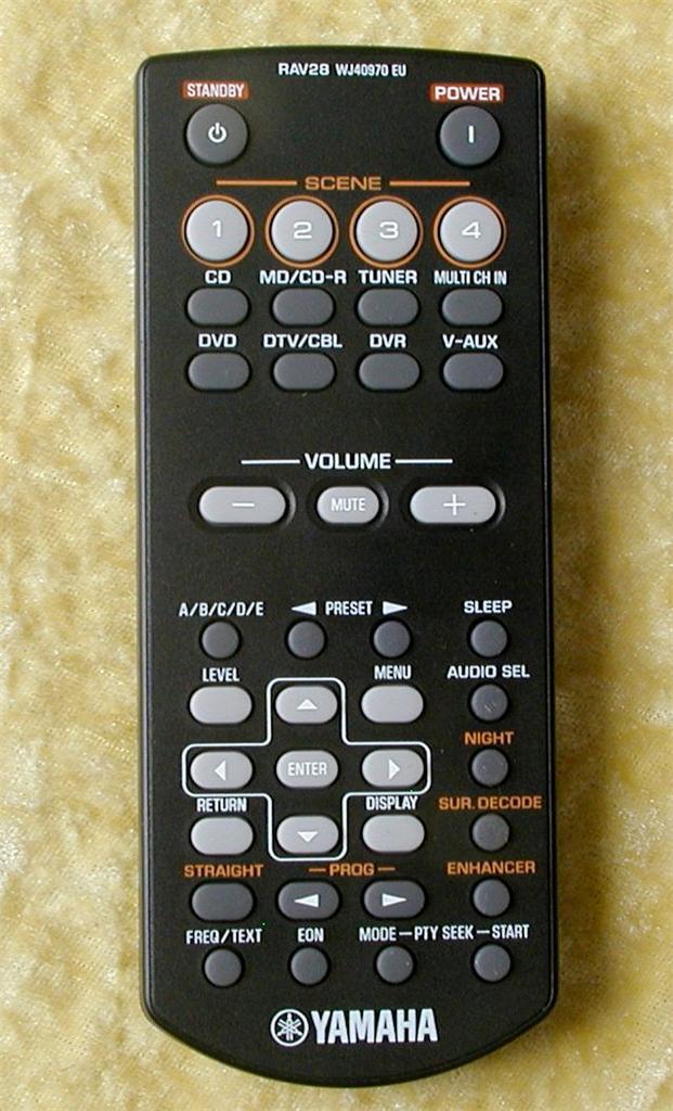 Yamaha remote control rav28 brand new for av receiver ebay for Yamaha receiver customer support phone number