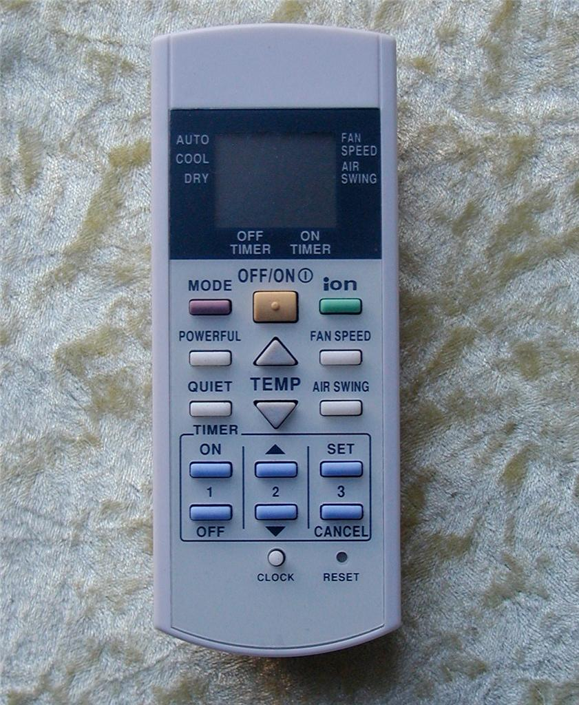 Ordinaire Image Is Loading Replacement Panasonic Air Conditioner Remote  Control A75C2600