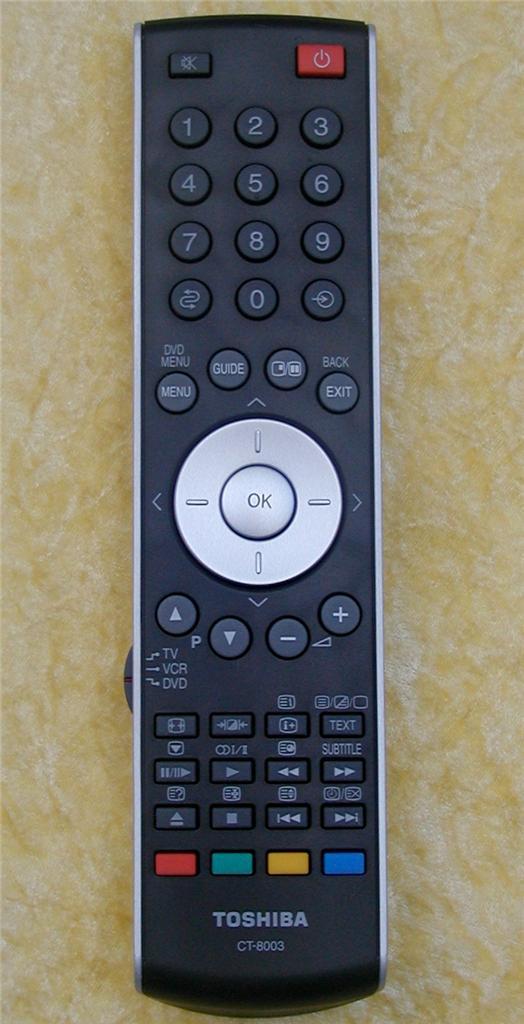 Toshiba-Remote-Control-CT-8003-Replace-CT-90283-40CV550A-37AV500A-42AV500A