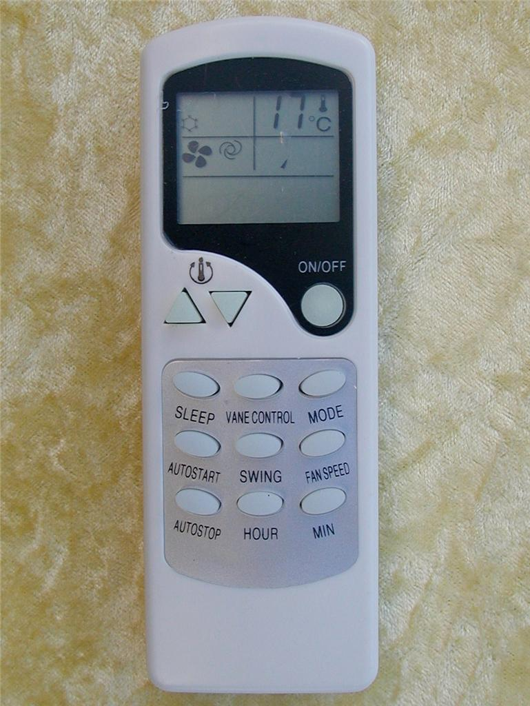 Hoffwel Air Conditioner Remote Control ZH/LW-01