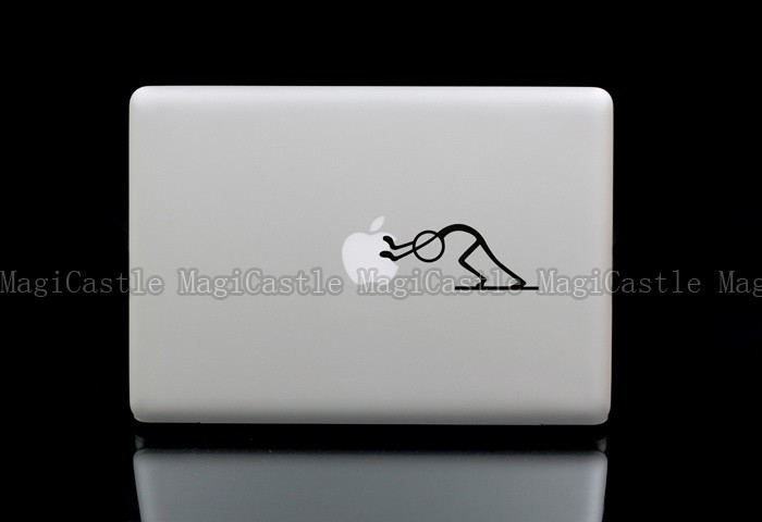 Push MacBook Laptop Netbook Vinyl Decal Skin Sticker