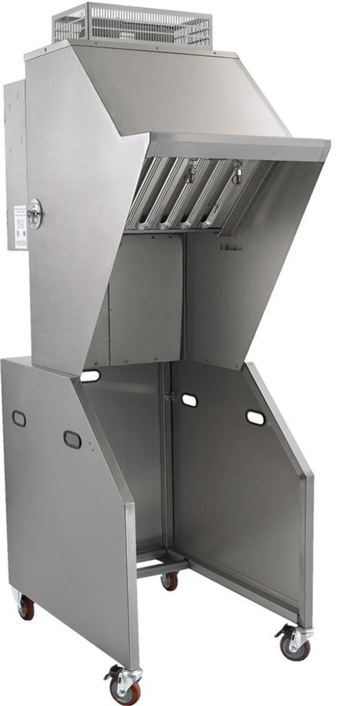 Used Restaurant Vent Hoods ~ Commercial restaurant ventless vent grease exhaust hood