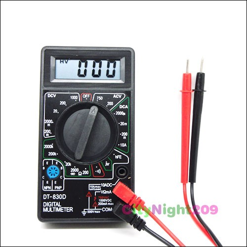 Ac Dc Digital Voltmeter Kit : Lcd digital voltmeter ammeter ohm multimeter ac dc test ebay