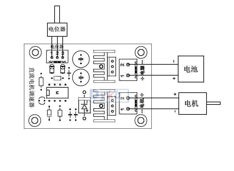 12v 24v 36v 10a Dc Motor Speed Pwm Control Controller Dc