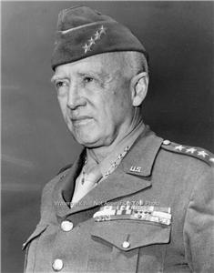 GENERAL GEORGE S. PATTON AMERICAN UNITED STATES ARMY WWII HERO PHOTO