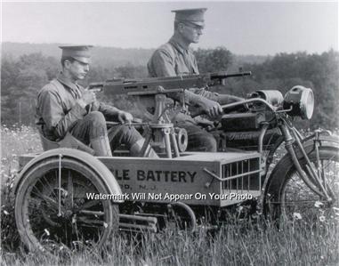who made the machine gun in world war 1