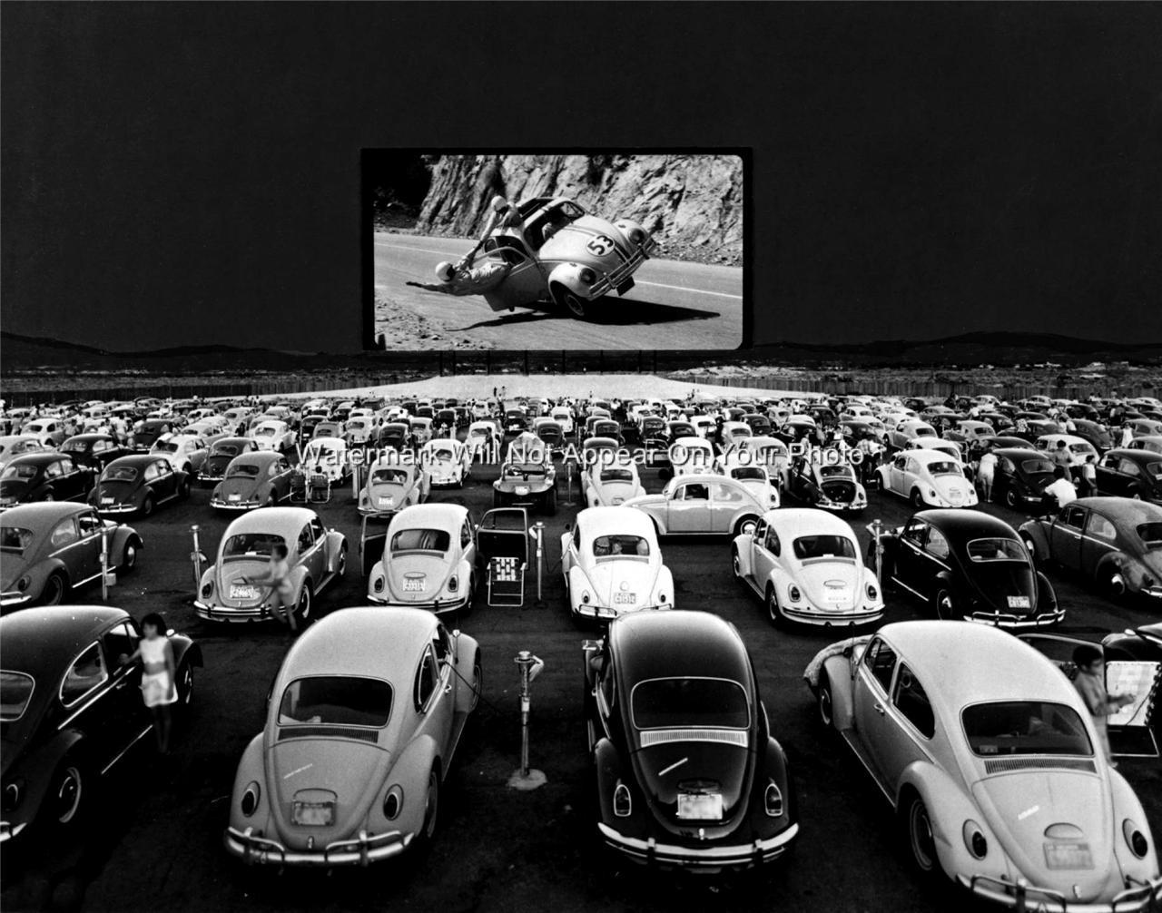 Las vegas drive in movie theater volkswagon vw beetle for Drive in bioscoop