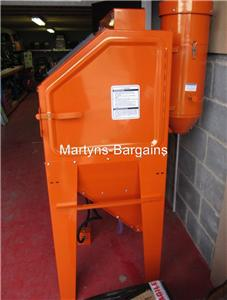 NEW INDUSTRIAL SAND BLASTING CABINET SBC420 CABINET IDEAL FOR WHEELS
