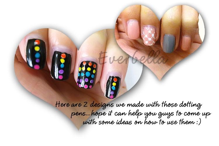 5pcs 10 sizes nail art design dotting pens tools 54163 everbella description prinsesfo Gallery