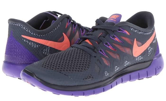nike free 5.0 grey purple