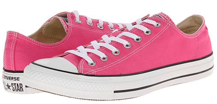 Chuck-Taylor-All-Star-Seasonal-Ox-Womens-Athletic-Sneakers-Pink-Paper